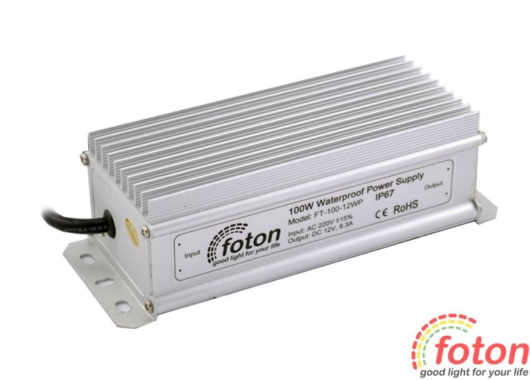 Герметичный блок питания FT-100-12WP Premium