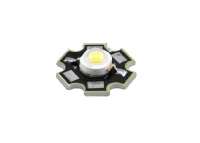 LED 3W White Star BIN1