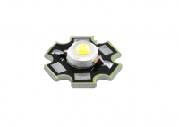 LED 3W Warm white Star BIN1