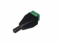 Power jack 2pin - 5,5mm Father
