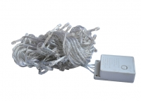LED Garland String, 100pcs, IP20  White Cable