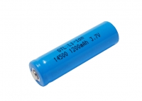 Battery Li-ion GTL 14500, 3,7V 1200mAh