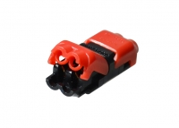 Cable connector 2pin (2 jack)