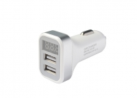 Dual USB Charger 2.1А with display