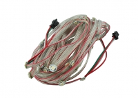 LED Garland RGB WS2812B, 50pcs, IP20 White cable