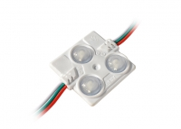 SMD 5050 WS2811, 3LED, RGB, IP54 (matted lenses)